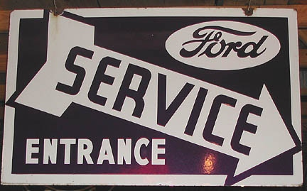 Jersey Gas pumps Vintage Old Ford Signs