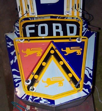 Jersey Gas Pumps Vintage Old Ford Neon Signs