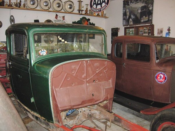 5 window 1932 Ford