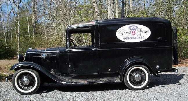 Sam S Ford Garage 1934 Ford V8 Panel Van